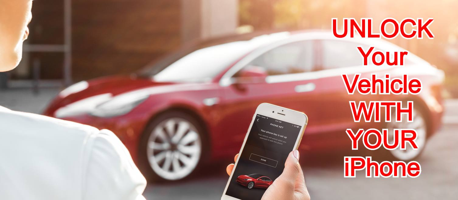 UNLOCK Your Vehicle WITH YOUR iPhone